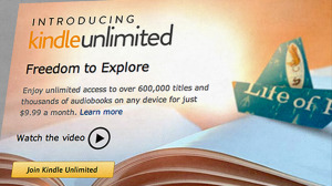 Amazon Kindle Unlimited ebook in abbonamento