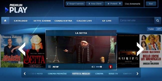 premium play gratis senza abbonamento