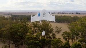 I droni di Google nel Project Wings